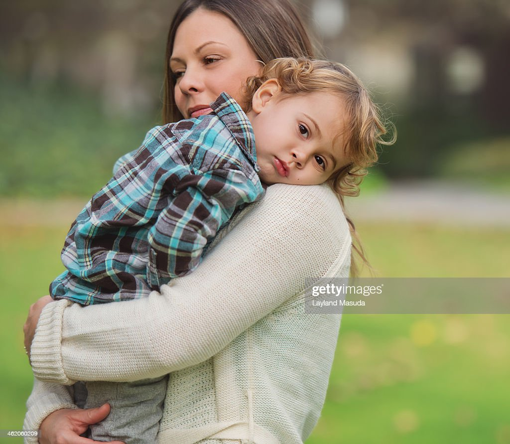Tired toddler : Stock Photo