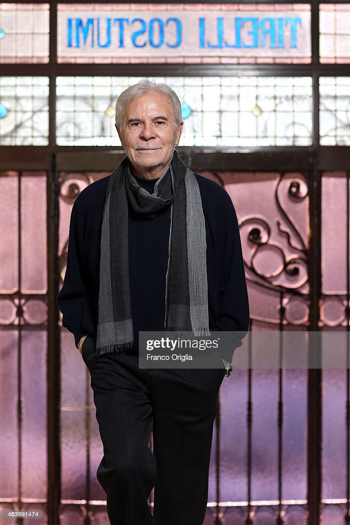 Tirelli CEO Dino Trappetti poses at the Tirelli Atelier on February 20, 2015 in Rome, Italy. The costumier Tirelli was established in 1964 and is responsible for the creation of costumes for films and well-known productions, including almost all of Luchino Visconti's films (designed by Piero Tosi). Tirelli has created costumes for a great many films for which it has won Academy Awards as well as other awards for Best Costume (Amadeus, Casanova, Cyrano, The English Patient, Age of Innocence, Marie Antoinette etc.).