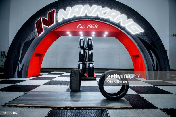 Tires developed specifically for the Fast Furious Live by the Nankang Rubber Tire Corporation to leave behind white tire marks that do not impede the...
