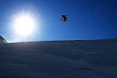 Tiril Sjaastad Christiansen of Norway competes in the FIS Freestyle Ski World Cup Slopestyle Qualification during the Winter Games NZ at Cardrona...