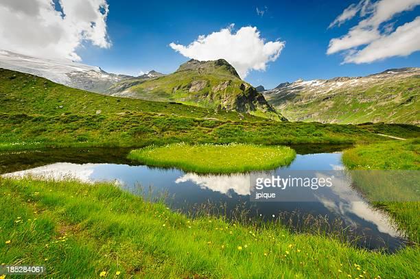 Tirol mountains and lake, Austria
