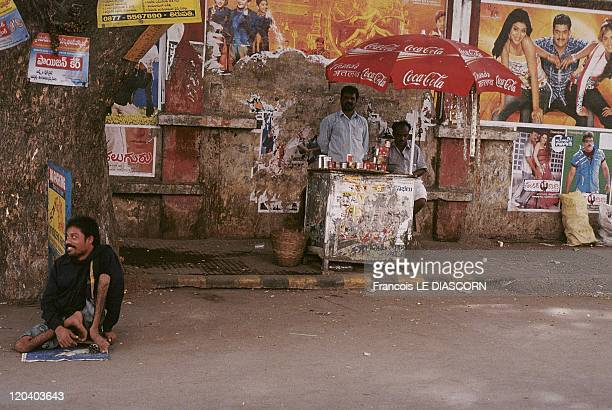 Tirupati India A handicapped beggar