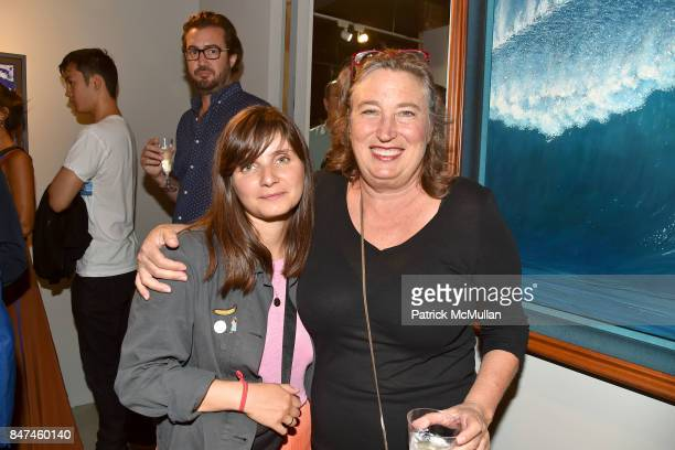 Tisch Dean and Lisa Conway attend IV New York Gallery Grand Opening Exhibition on September 14 2017 in New York City
