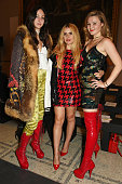 Tish Weinstock Paloma Faith and Amber Atherton attend the Ashish VA Fashion In Motion show at The VA on October 23 2015 in London England