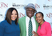 Tisha Campbell Martin Michael Colyar and Brooks Jackson attend the benefit for children with autism at Xen Lounge on April 17 2016 in Studio City...
