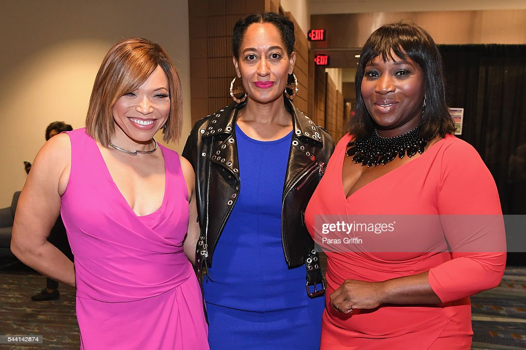 <a gi-track='captionPersonalityLinkClicked' href=/galleries/search?phrase=Tisha+Campbell-Martin&family=editorial&specificpeople=241211 ng-click='$event.stopPropagation()'>Tisha Campbell-Martin</a>, <a gi-track='captionPersonalityLinkClicked' href=/galleries/search?phrase=Tracee+Ellis+Ross&family=editorial&specificpeople=211601 ng-click='$event.stopPropagation()'>Tracee Ellis Ross</a>, and Bevy Smith attend the 2016 ESSENCE Festival Presented By Coca-Cola at Ernest N. Morial Convention Center on July 1, 2016 in New Orleans, Louisiana.