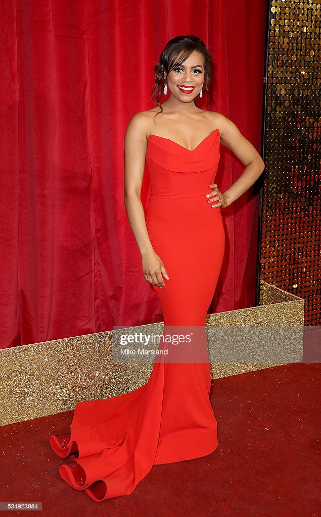 Tisha Merry attends the British Soap Awards 2016 at Hackney Empire on May 28, 2016 in London, England.
