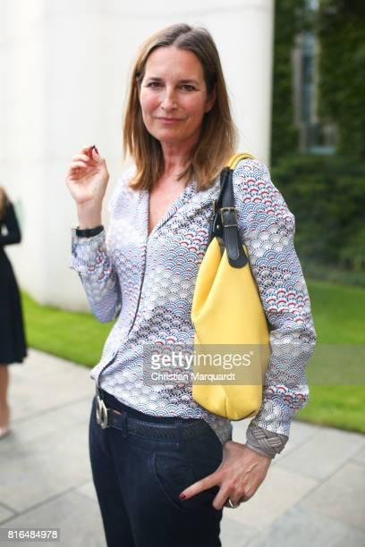 Tita von Hardenberg attends the '#weiles2017ist' Reception And Closing Ceremony at Bundeskanzleramt on July 17 2017 in Berlin Germany