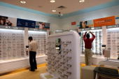Titan eye shop in Bangalore India