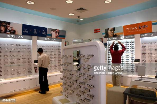 Titan eye shop in Bangalore India