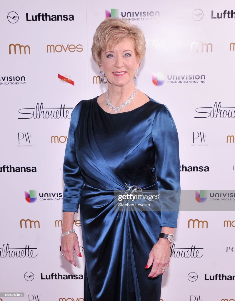 Titan Sports CEO Linda McMahon attends the PowerWomen 2013 awards on November 14, 2013 in New York City.