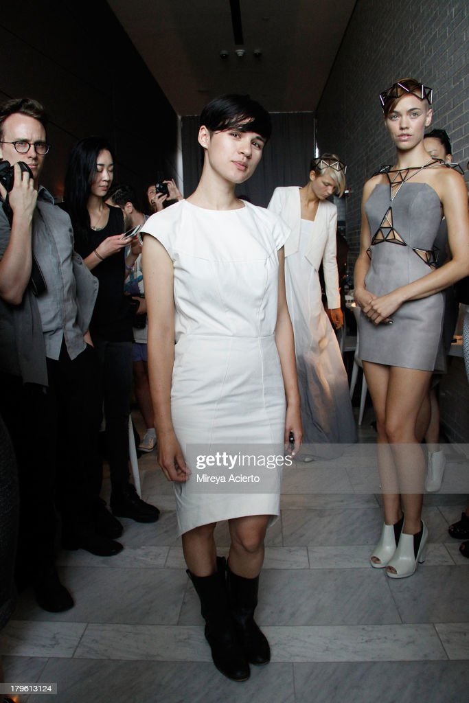 Titania Inglis attends the Titania Inglis presentation during Mercedes-Benz Fashion Week Spring 2014 at The Standard Hotel - High Line Room on September 5, 2013 in New York City.