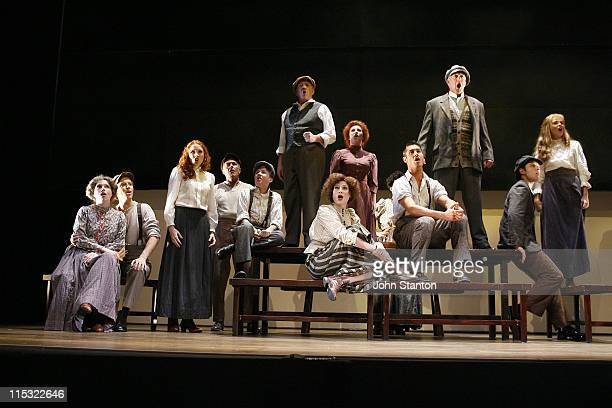 Titanic Cast during 'Titanic The Musical' Sydney Media Call at Theatre Royal in Sydney NSW Australia