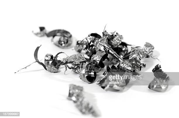 titanium metal shavings