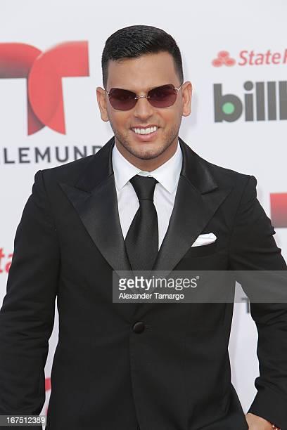 Tito el Bambino arrives at Billboard Latin Music Awards 2013 at Bank United Center on April 25 2013 in Miami Florida