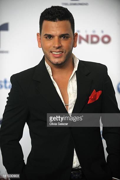 Tito El Bambino arrives at Telemundo's Premios Tu Mundo Awards at Fillmore Miami Beach on August 30 2012 in Miami Beach Florida