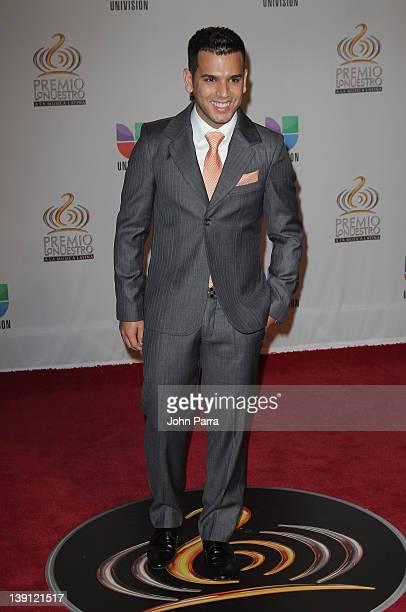 Tito el Bambino arrives at the Premio Lo Nuestro a La Musica Latina at American Airlines Arena on February 16 2012 in Miami Florida