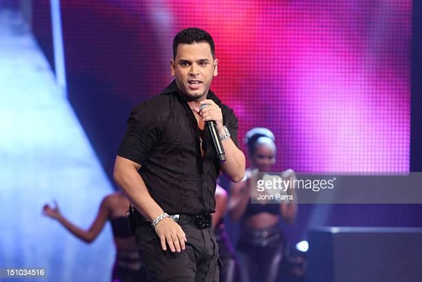 Tito El Bambino performs at Telemundo's Premios Tu Mundo Awards at Fillmore Miami Beach on August 30 2012 in Miami Beach Florida