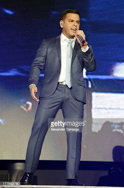 Tito El Bambino performs during the 'Vivir Mi Vida' tour at American Airlines Arena on August 23 2013 in Miami Florida