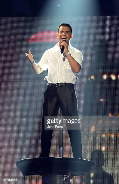 Tito El Bambino performs onstage at the 2010 Billboard Latin Music Awards at Coliseo de Puerto Rico José Miguel Agrelot on April 29 2010 in San Juan...