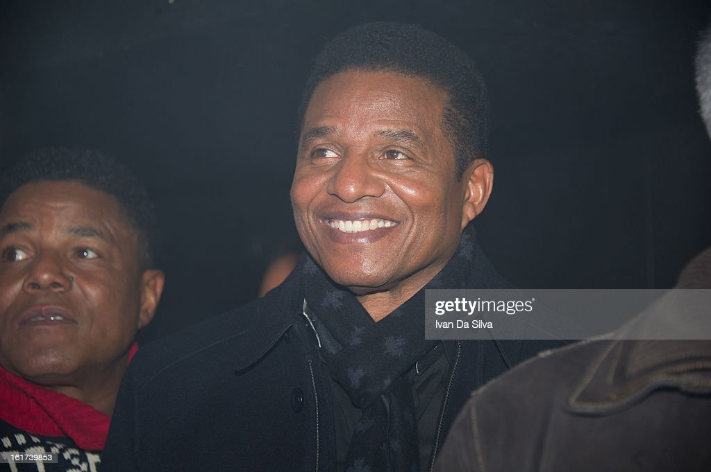 Tito Jackson and Jackie Jackson of The Jacksons perform at Cafe Opera on February 14, 2013 in Stockholm, Sweden.