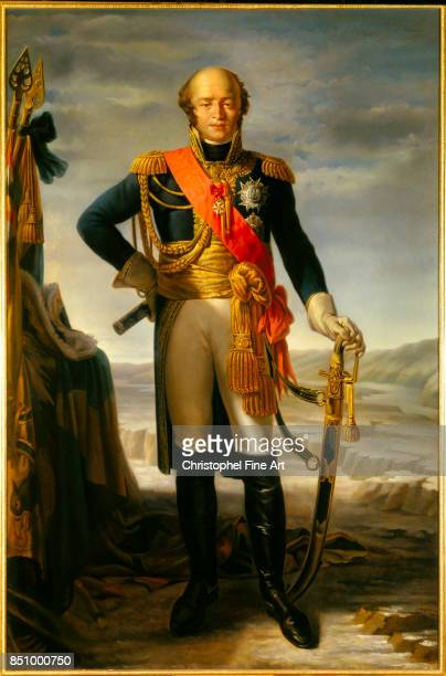 Tito Marzocchi de Bellucci Portrait of Louis Nicolas Davout Duke of Auerstaedt Prince of Eckmuhl Marshal of the Empire 1852 Oil on canvas 215 x 110 m...