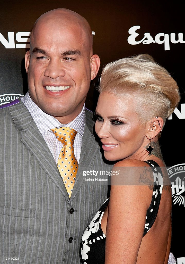 <a gi-track='captionPersonalityLinkClicked' href=/galleries/search?phrase=Tito+Ortiz&family=editorial&specificpeople=233546 ng-click='$event.stopPropagation()'>Tito Ortiz</a> and <a gi-track='captionPersonalityLinkClicked' href=/galleries/search?phrase=Jenna+Jameson&family=editorial&specificpeople=206496 ng-click='$event.stopPropagation()'>Jenna Jameson</a> attend the 'House of Hype' Monster Grammy party at SLS Hotel on February 10, 2013 in Los Angeles, California.