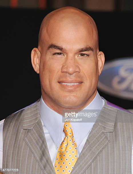 Tito Ortiz arrives at the Los Angeles Premiere 'Need For Speed' at TCL Chinese Theatre on March 6 2014 in Hollywood California