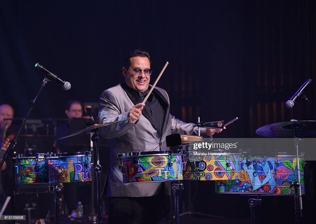 Tito Puente Jr. at Latin Songwriters Hall Of Fame La Musa Awards, Miami Beach, FL on October 13, 2016