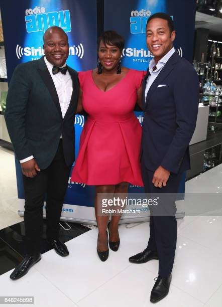 Titus Burgess SiriusXM Host Bevy Smith and Don Lemon attend A Radio Special Celebrating The Anniversary Of Andy Cohen's SiriusXM Channel Radio Andy...