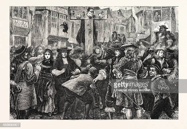 Titus Oates In The Pillory London