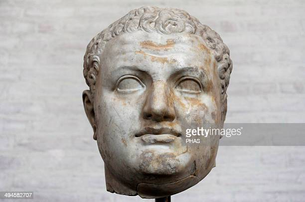 Titus Was Roman Emperor from 79 to 81 A member of the Flavian dynasty Bust Glyptothek Munich Germany