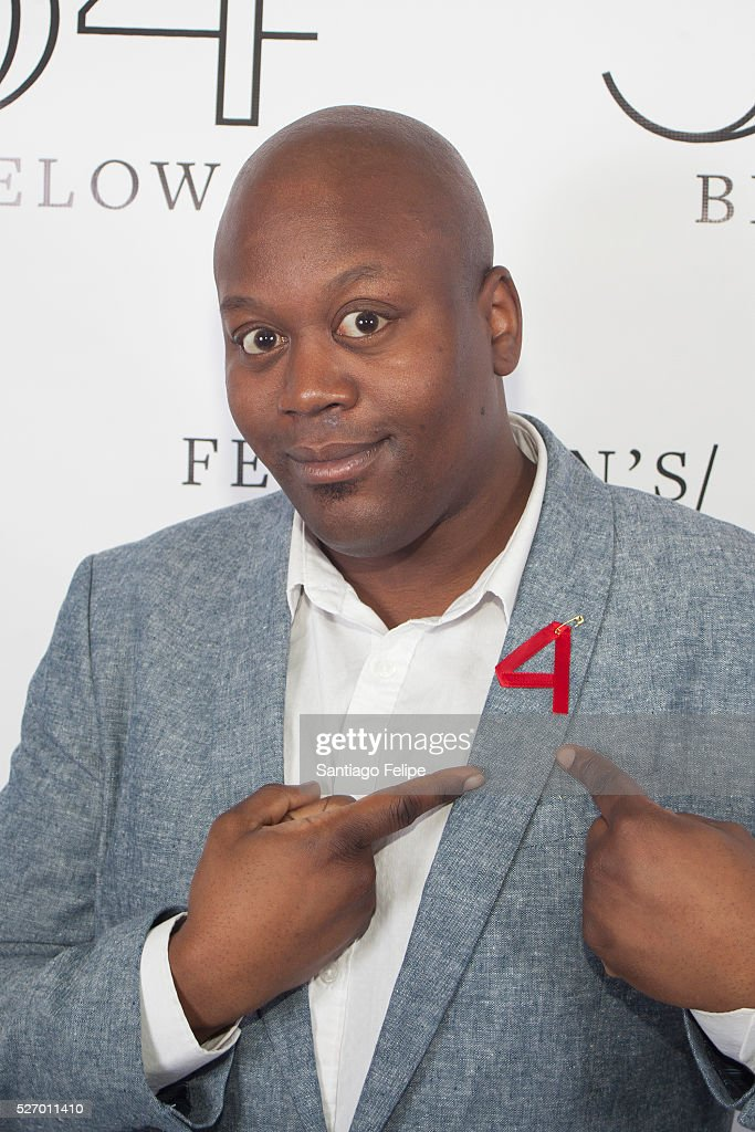 <a gi-track='captionPersonalityLinkClicked' href=/galleries/search?phrase=Tituss+Burgess&family=editorial&specificpeople=757092 ng-click='$event.stopPropagation()'>Tituss Burgess</a> attends Broadway Acts For Women: A Star-Studded Night Of Karaoke And Comedy at 54 Below on May 1, 2016 in New York City.