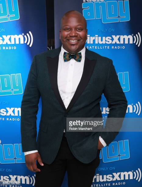 Tituss Burgess attends SiriusXM Host Bevy Smith Hosts A Radio Special Celebrating The Anniversary Of Andy Cohen's SiriusXM Channel Radio Andy at...