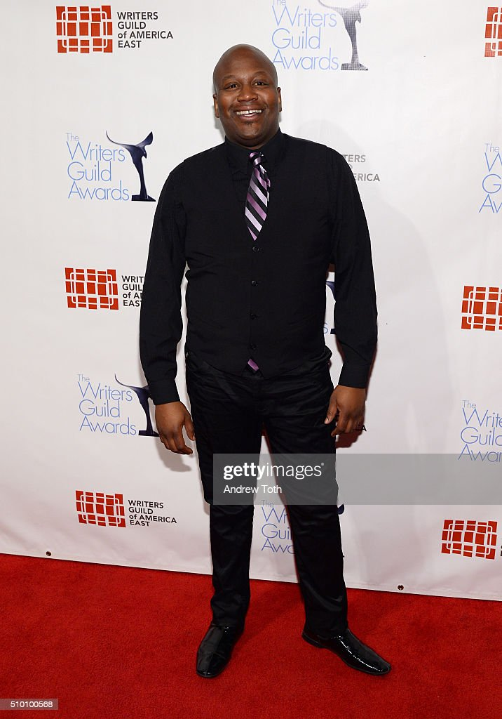 Tituss Burgess attends the 2016 Writers Guild Awards New York Ceremony at The Edison Ballroom on February 13 2016 in New York City