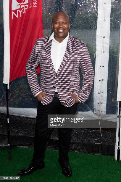 Tituss Burgess attends the 2017 New York Restoration Project Spring Picnic at Sherman Creek Park on June 19 2017 in New York City