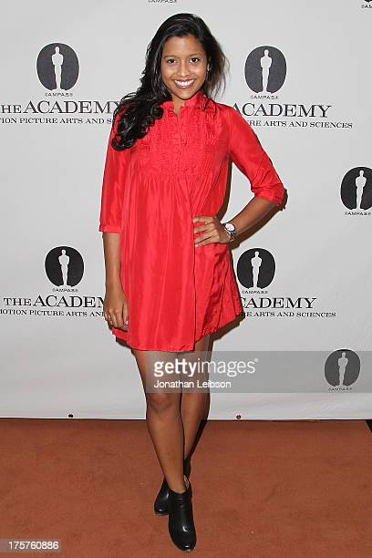 Tiya Sircar attends the sneak preview screening of 'Short Term 12' presented by The Academy Of Motion Picture Arts And Sciences at Linwood Dunn...