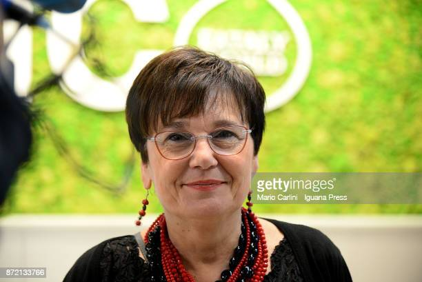 Tiziana Primori Managing Director of FICO attends the press preview at CAAB FICO Agro Food Center on November 9 2017 in Bologna Italy Fico it's the...