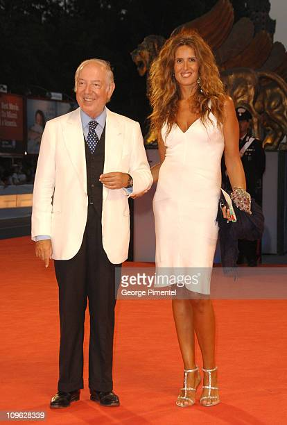 Tiziana Rocca and guest during The 63rd International Venice Film Festival 'The Fountain' Premiere Arrivals at Palazzo del Cinema in Venice Lido Italy