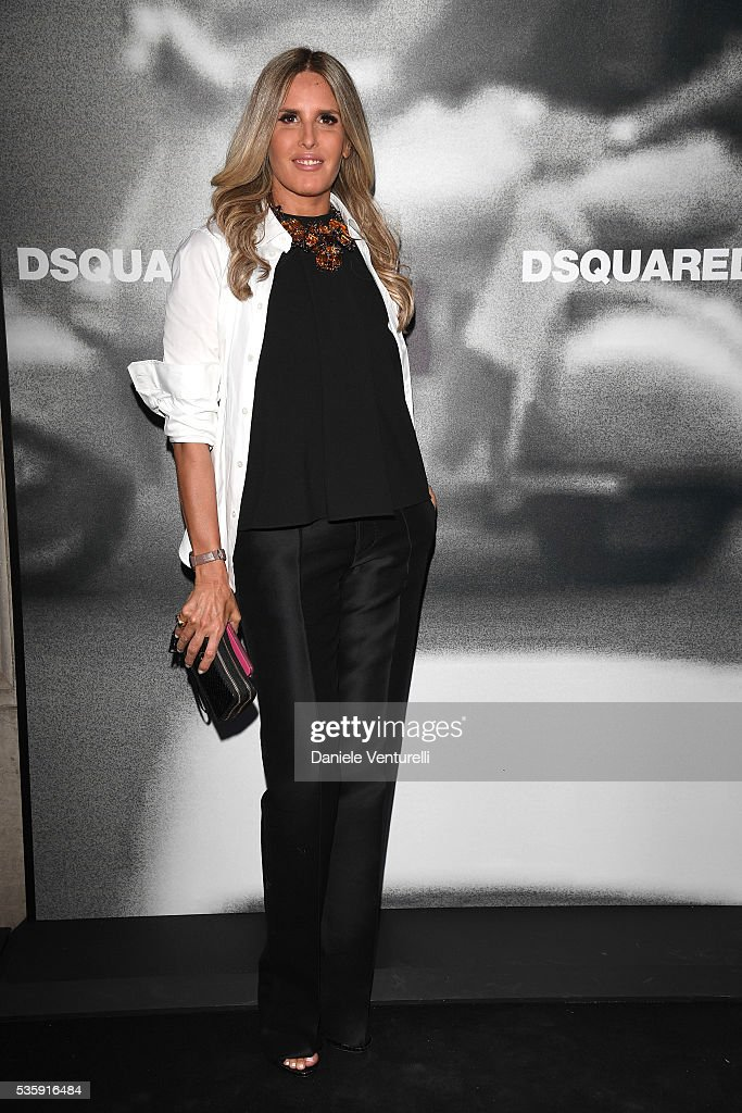 <a gi-track='captionPersonalityLinkClicked' href=/galleries/search?phrase=Tiziana+Rocca&family=editorial&specificpeople=863159 ng-click='$event.stopPropagation()'>Tiziana Rocca</a> attends Dsquared2 in-store cocktail on May 30, 2016 in Rome, Italy.