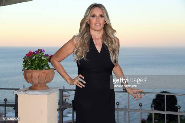 Tiziana Rocca attends Nations Award gala dinner on July 28 2017 in Taormina Italy