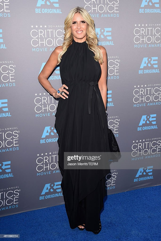 Tiziana Rocca attends the 20th annual Critics' Choice Movie Awards at the Hollywood Palladium on January 15, 2015 in Los Angeles, California.