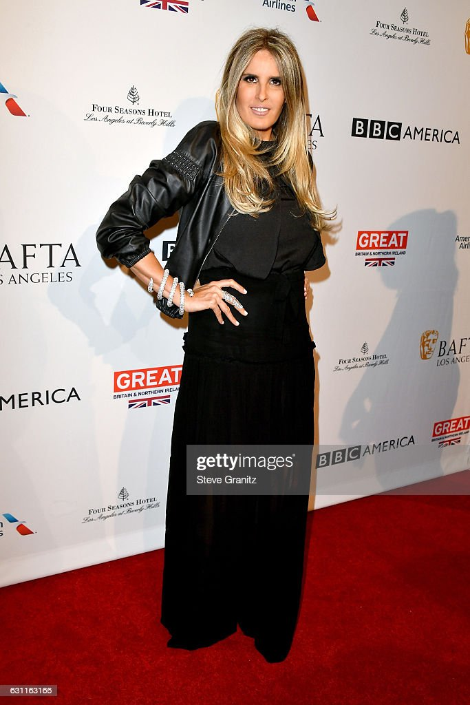 Tiziana Rocca attends The BAFTA Tea Party at Four Seasons Hotel Los Angeles at Beverly Hills on January 7, 2017 in Los Angeles, California.