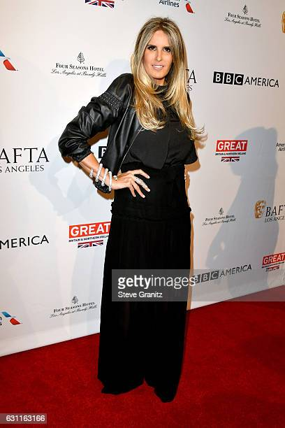 Tiziana Rocca attends The BAFTA Tea Party at Four Seasons Hotel Los Angeles at Beverly Hills on January 7 2017 in Los Angeles California