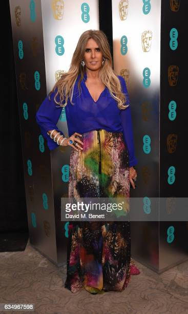Tiziana Rocca attends the official After Party Dinner for the EE British Academy Film Awards at Grosvenor House on February 12 2017 in London England