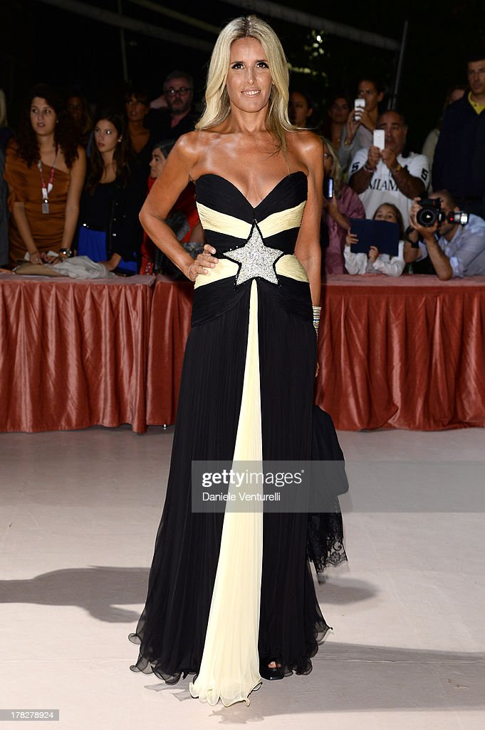Tiziana Rocca attends the Opening Ceremony during The 70th Venice International Film Festival on August 28, 2013 in Venice, Italy.