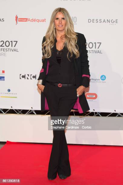 Tiziana Rocca attends the Opening Ceremony of the 9th Film Festival Lumiere on October 14 2017 in Lyon France