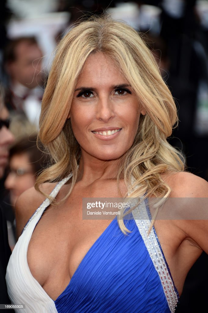 Tiziana Rocca attends the Premiere of 'Inside Llewyn Davis' during the 66th Annual Cannes Film Festival at Palais des Festivals on May 19, 2013 in Cannes, France.