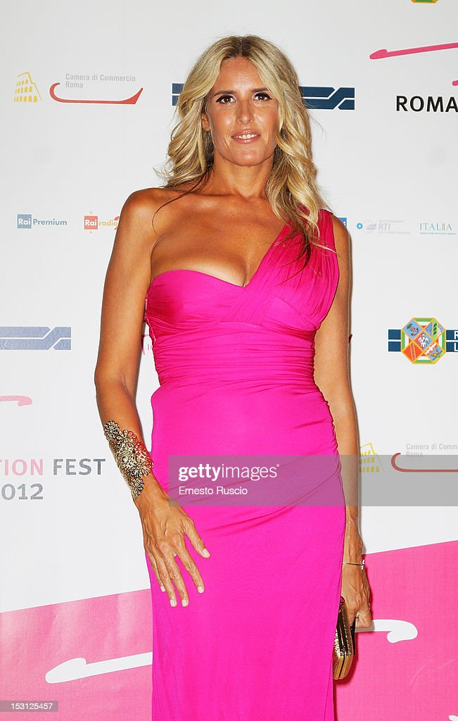 Tiziana Rocca attends the ' RomaFictionFest 2012 - Opening Ceremony' at Auditorium Parco Della Musica on September 30, 2012 in Rome, Italy.