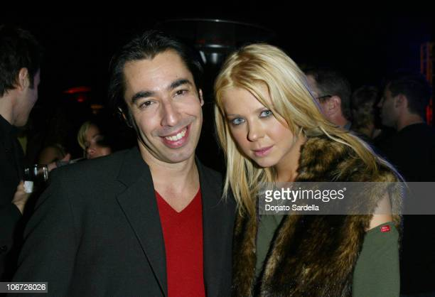 Tiziano and Tara Reid during Miss Sixty Energie Los Angeles Store Opening Event Hosted by OutKastInside And After Party at Miss Sixty Store in West...